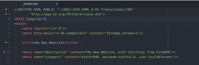HTML Head