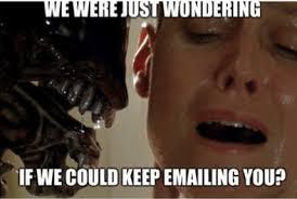 GDPR Aliens email meme